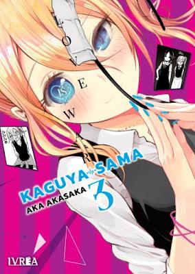 Review de Kaguya-sama: Love is War vols. 3 y 4 de Aka Akasaka, Ivréa.