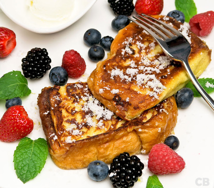 Recept Versgebakken wentelteefjes met heel veel gezond fruit!