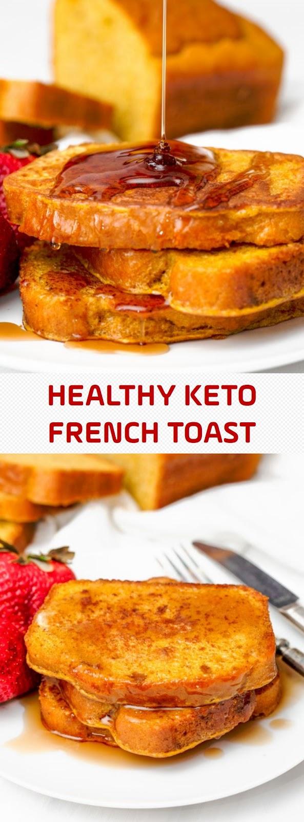 HEALTHY KETO FRENCH TOAST