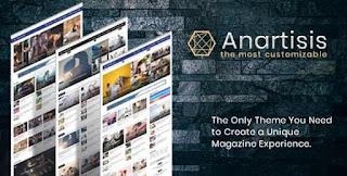 Download Anartisis - News and Magazine Blogger Theme
