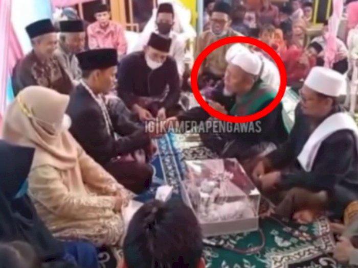 Tumbang Usai Ucap Syahadat, Berikut Video DETIK-DETIK Ulama Meninggal saat Nikahkan Pengantin di Banten