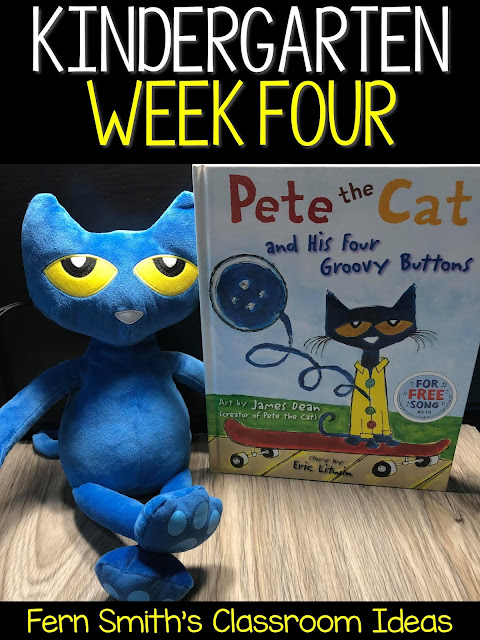 Pete the Cat! Say No More Pete is All About Week Four!