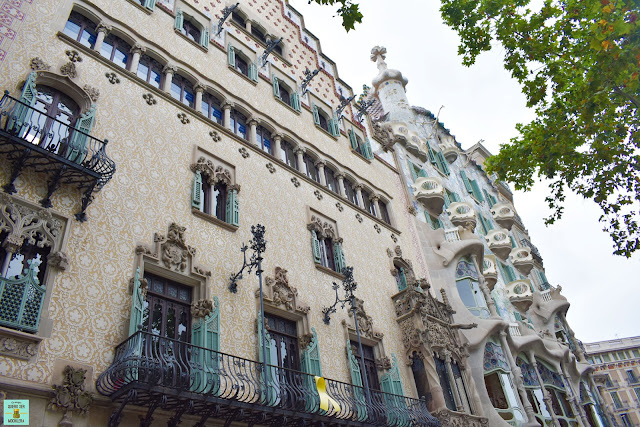 Casa Amatller junto a la Casa Batlló en Barcelona