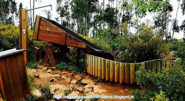 PIA DO URSO, Eco-Parque Sensorial, Estação da Água