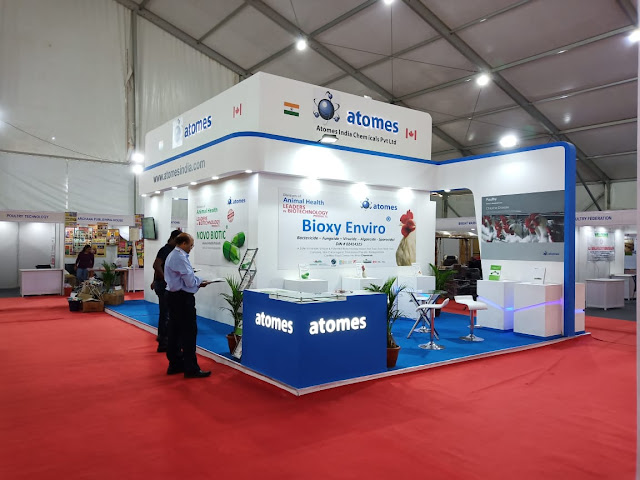 Atomes India Chemicals Pvt Ltd - Poultry India 2018 at HITEX Exhibition Center, Hyderabad