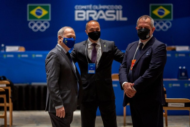 Paulo Wanderley, Rogério Sampaio e Silvio Acácio Foto: Miriam Jeske/COB