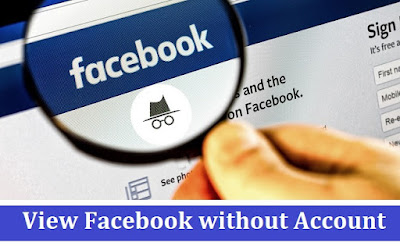 View Facebook without Account