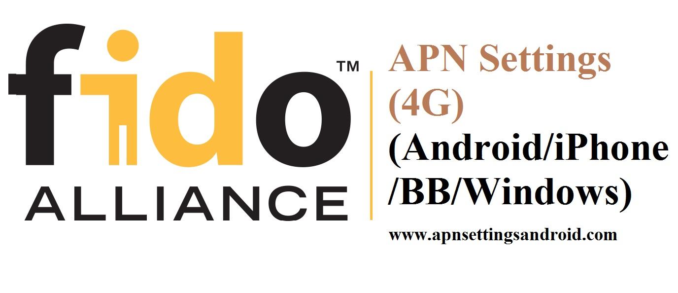 Fido APN Settings