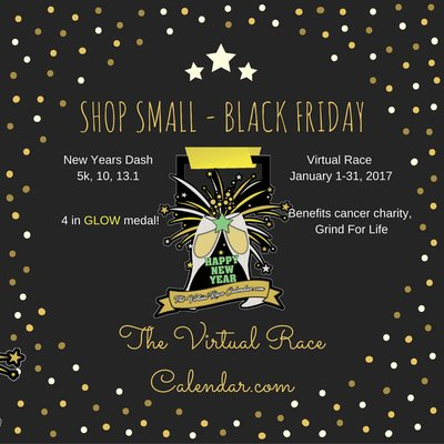 the virtual race calendar small business small biz start up shop small black friday virtual race run sale virtual running club