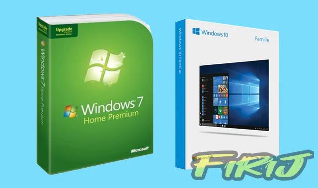 La différence entre Windows 7 et Windows 10