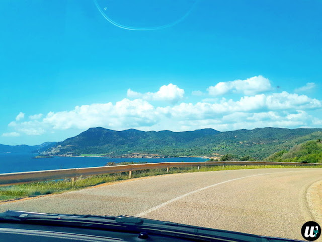 Landscape view from car | Sardinia, Italy | wayamaya