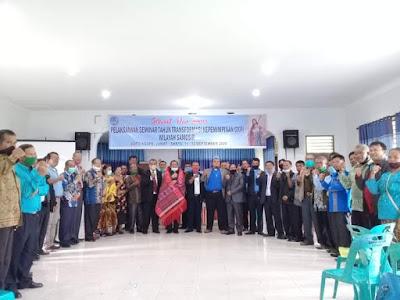 Hadiri Seminar Tahun Transformasi kepemimpinan GKPI, Bupati Samosir: Jauhi Pikiran Sempit Tentang Agama dan Pelihara Toleransi