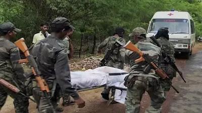 माओवादियों से मुठभेड़ में पांच सुरक्षाकर्मी शहीद, प्रधानमंत्री ने कहा - शहीदों का बलिदान कभी भुलाया नहीं जाएगा