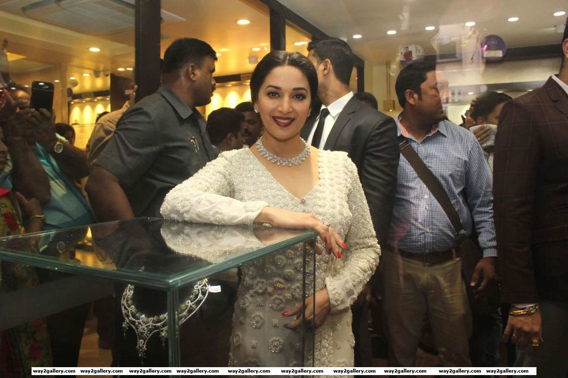 Madhuri Dixit recently launched her line of jewellery Timeless by Madhuri Dixit