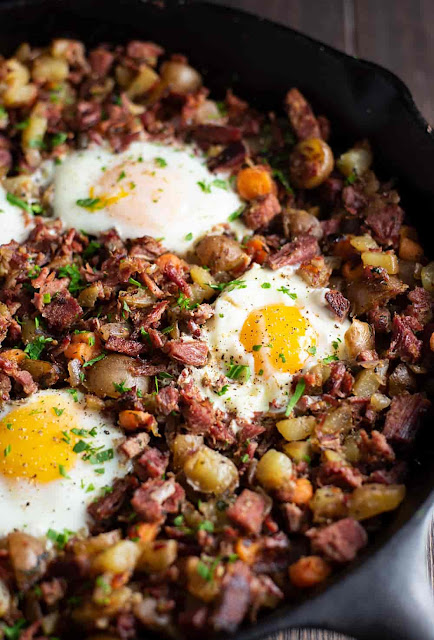 Corned Beef Hash and Eggs Recipe | FOOD 2019