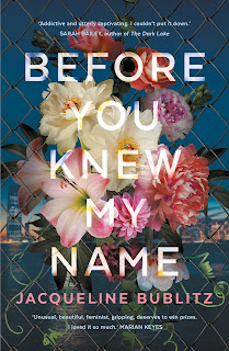 Before You Knew My Name by Jacqueline Bublitz book cover