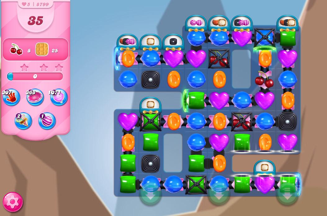 Candy Crush Saga level 8799