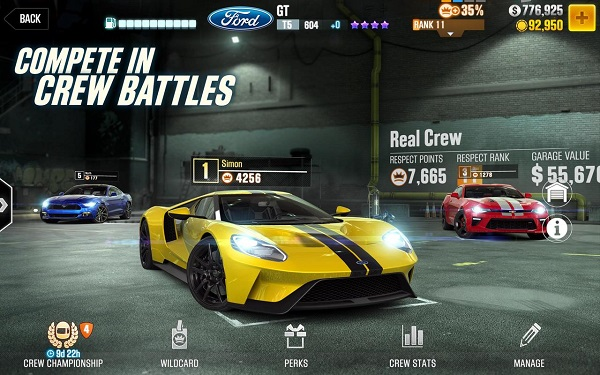 CSR Racing 2 iPhone iPad Android juegos de autos gratis