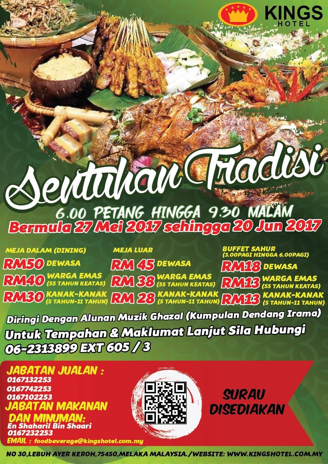 Buffet Ramadhan kings hotel Melaka