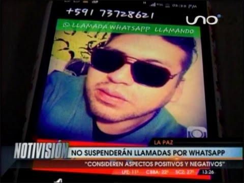 CONFIRMADO: LAS LLAMADAS POR WHATSAPP NO SERÁN PROHIBIDAS EN BOLIVIA COMO OCURRIÓ EN OTROS PAÍSES
