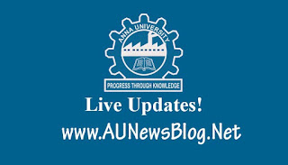 Anna University Exam Results Nov Dec 2017 will publish Today (SMS & Website available to check results)