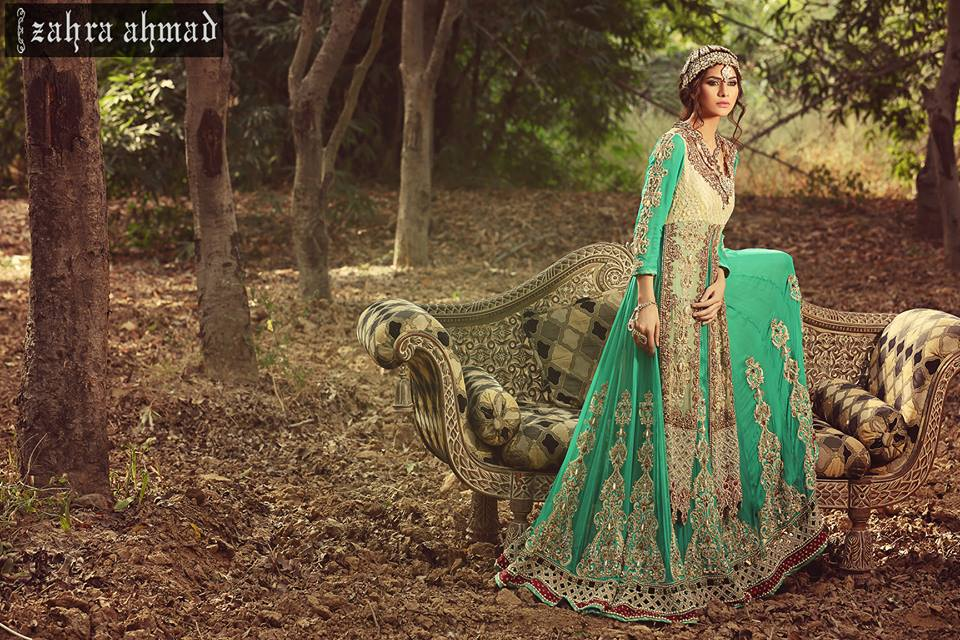 new amazing Pakistani bridal dresses 2016