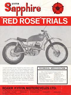 Kyffin Sapphire Red Rose Trials