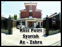 kost putri syariah Az-zahra seturan