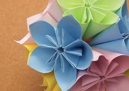 5 Langkah Cara Membuat Bunga Dari Kertas Karton Mudah