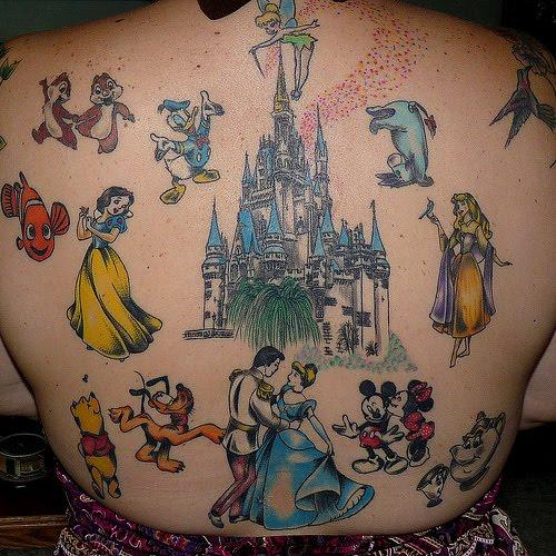 Tattoo Design: Disney Tattoos
