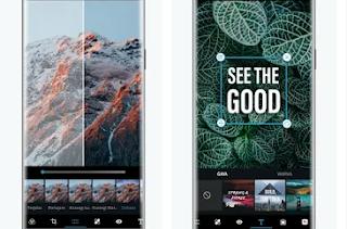 Aplikasi Edit Foto Terbaik di Hp Android dan iPhone