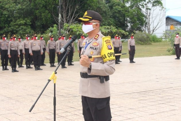 Peringati hari bhayangkara ke-74, Kapolres barsel pimpin ziarah di TMP