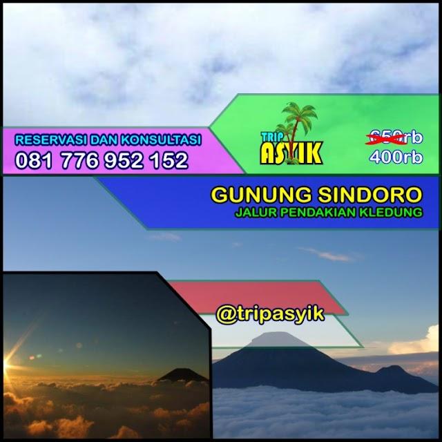 Open Trip Gunung Sindoro Jalur Pendakian Kledung