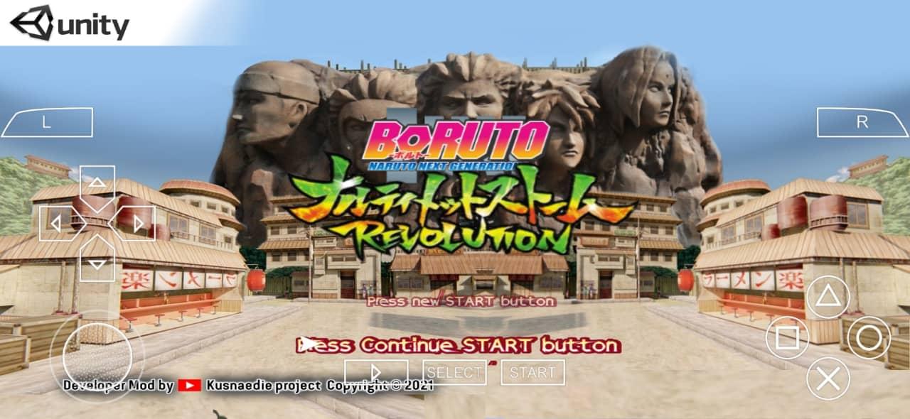 Boruto Naruto Next Generation Storm Revolution PPSSPP ISO Download