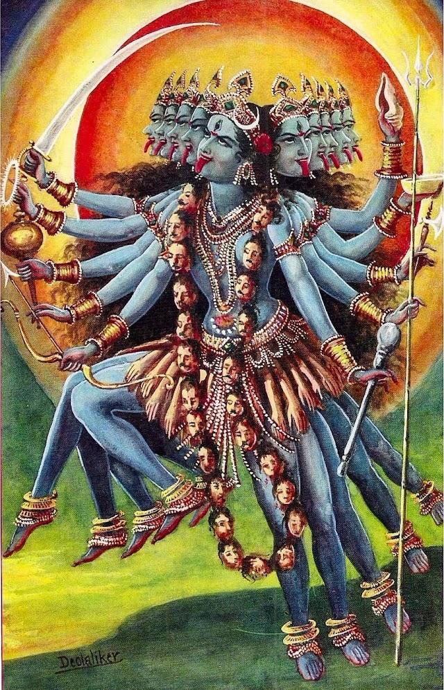 Bhagwati Mahakali (Goddess Mahakali) Sadhana Sumeru Element Analysis and Shakti Upasanaa - 1