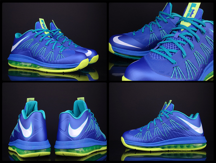 """fc2347eb59c Nike Air Max LeBron 10 Low """"Summit Lake Hornets""""  May Release ..."""