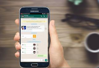 Pada dikala mengirim pesan melalui aplikasi whatsapp √  Cara Mengubah Suara Pada Voice Note Di Whatsapp Menjadi Unik