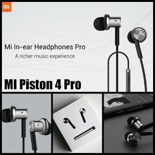 Headset Xiaomi Hybrid Piston 4 Earphone Handsfree Universal