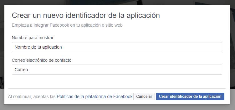 nueva aplicacion facebook