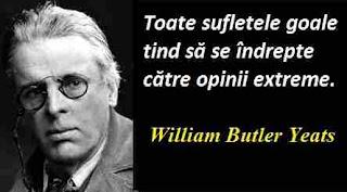 Maxima zilei: 13 iunie - William Butler Yeats