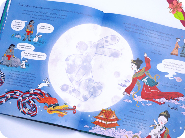 Mon grand livre illustré La Lune - Usborne