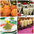 Table decoration for Christmas - 30 easy ideas