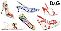 Dolc&Gabbana 2012 İlkbahar Yaz Kadın Ayakkabı Modelleri