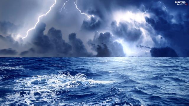 Αποτέλεσμα εικόνας για θαλασσα καταιγιδα