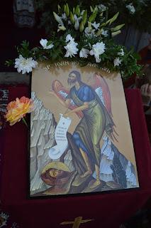 Taierea Capului Sf. Ioan Botezatorul, Hramul Manastirii Cormaia, jud. Bistrita-Nasaud