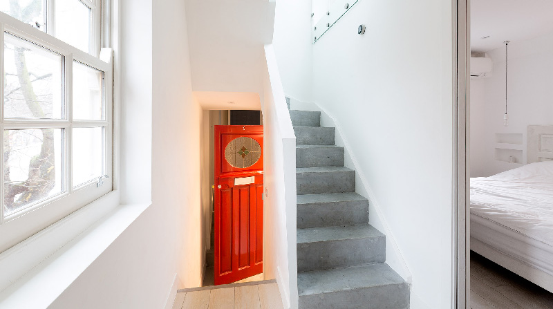 le case più belle di Londra: un duplex minimalista e vintage