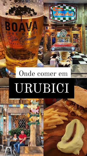 Onde comer em Urubici