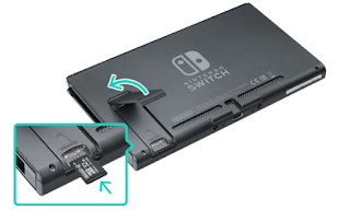 Nintendo Switch Memory Card Size