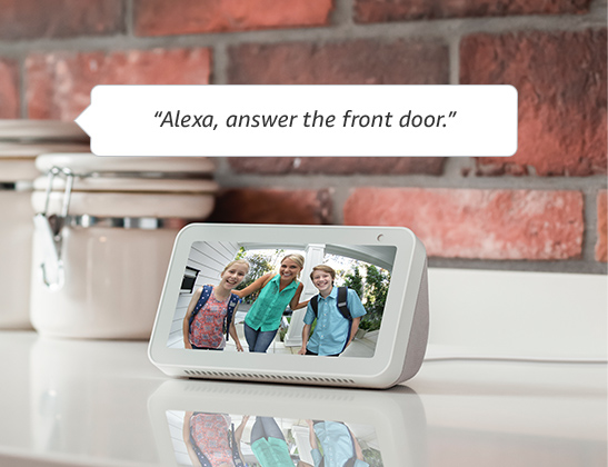 Connect Ring Video Doorbell 3 with select Alexa-enabled devices