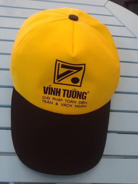 Thiết kế và sản xuất nón sự kiện cho công ty Vĩnh Tường